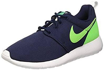 Infidelidad garra Sábana  Blue Boys Kids Children's Nike Roshe Run Trainers Sneakers Shoes