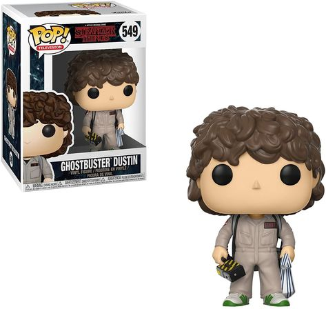Funko Pop Television: Stranger Things - Dustin Ghostbusters Collectible Vinyl Figure