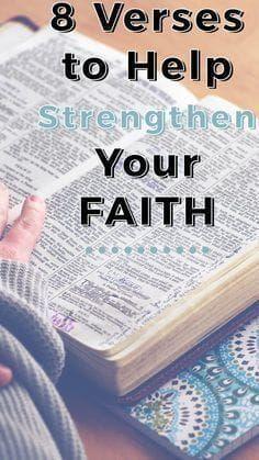 8 Verses to Help Strengthen Your Faith | Best Bible Studies