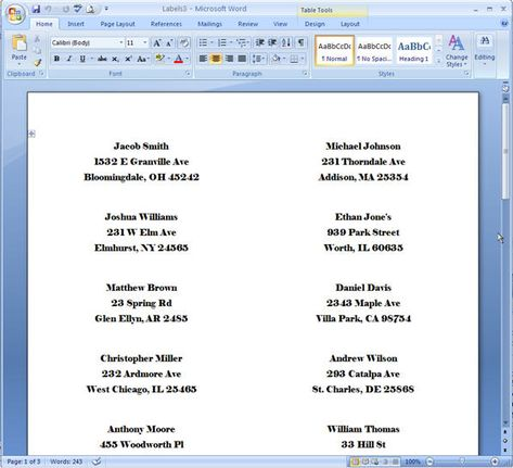 Word Mail Merge - 25 Labels and printables Book labels, Address