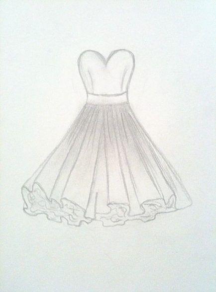 41 Trendy Ideas Fashion Drawing Dresses Easy Fashion Design Drawings Dress Design Drawing Fashion Drawing Dresses