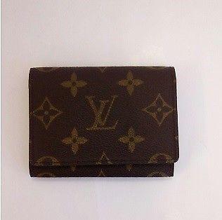 Louis Vuitton Monogram Card Case Business Card Holder Ladies Accessory Zj 145 Monogram Card Women Accessories Louis Vuitton Monogram