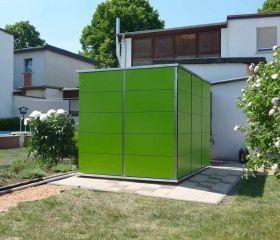 Gartenhaus Flachdach Modern Garten Q Gmbh In 2020 Gartenhaus Flachdach Modern Gartenhaus Flachdach