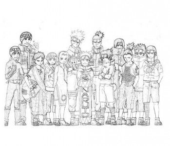 Desenhos Naruto Para Colorir Con Imagenes Dibujos Dibujos De