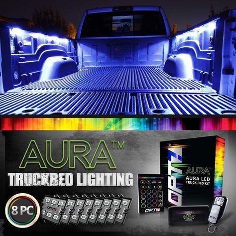 Aura Pro Led Truck Bed Pod Lighting Kit Multi Color Bluetooth