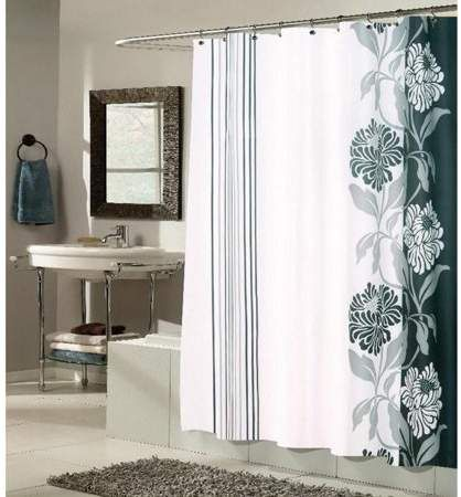 Equinox Shower Curtain Products Curtains Shower Bathroom