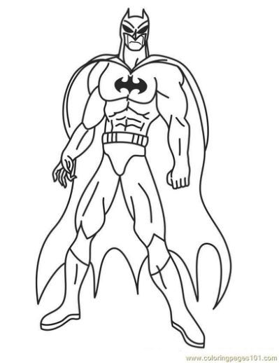 Free Printable Superhero Coloring Superhero Coloring Batman Coloring Pages Superhero Coloring Pages