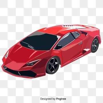 Sports Equipment Background In 2021 Red Sports Car Red Race Car Vector