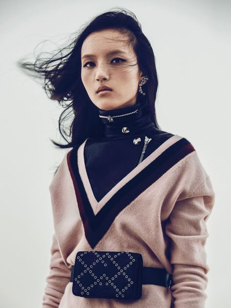 Luping Wang : Vogue China October 2015