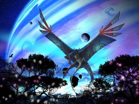 Avatar Wallpaper: Ikran