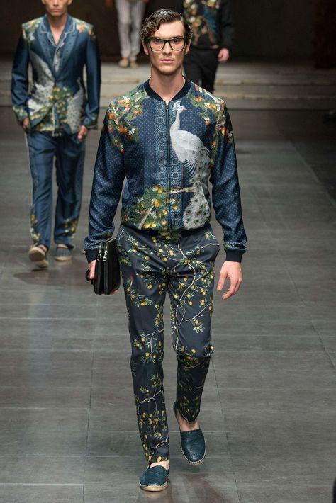 Dolce & Gabbana Spring 2016 Menswear Collection - Vogue