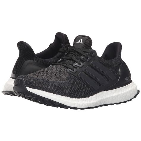 on sale f1034 27b56 adidas Running Ultra Boost (Core Black Core Black Core Black) Women s... (  180) ❤ liked on Polyvore featuring shoes, athletic shoes, cushioned shoes,  ...
