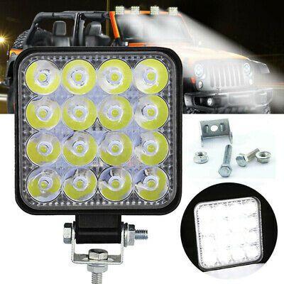 Square 48w Led Work Light 12v 24v Off Road Flood Spot Lamp For Car Truck Suv In 2020 Led Work Light Cars Trucks Work Lights