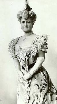 Bertha Palmer ,an American businesswoman, socialite, and philanthropist.married the Chicago millionaire Potter Palmer in 1870