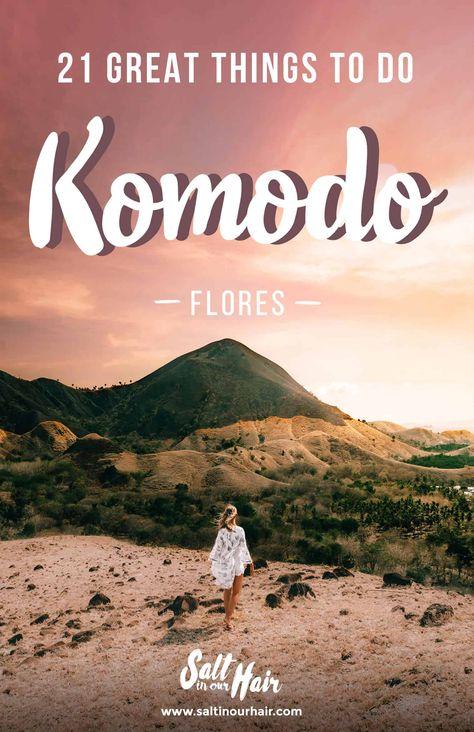 21 x Things To Do in Komodo, Flores, Indonesia. #Komdodo #Flores #Indonesia