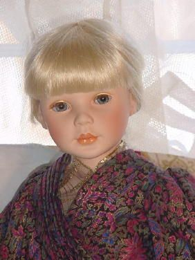 "23"" porcelain Limited Edition doll Fantasy by artist Pauline Bjonness-Jacobsen"