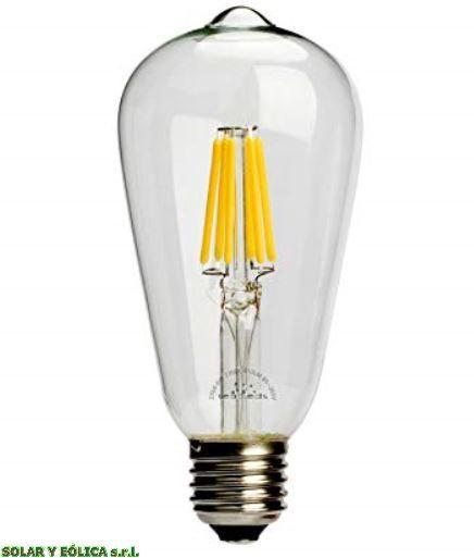 Https Articulo Mercadolibre Com Ar Mla 742595922 Lampara Vintage Led 6w Filamento E27 220v Filament Bulb Lighting Decorative Light Bulbs Home Lighting Design