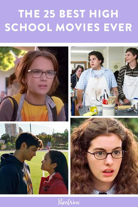 The 25 Best High School Movies of All Time #purewow #entertainment #comedy #movies