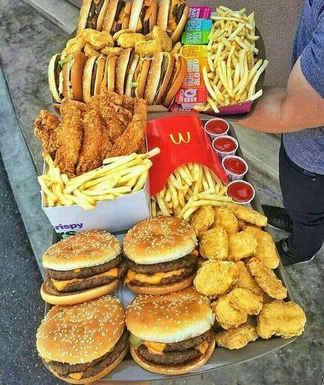 Fast Food Mcdonalds Food Winning Surveys Fast Food Mcdonalds Surveys Winning In 2020 Food Cravings Sleepover Food Food Goals