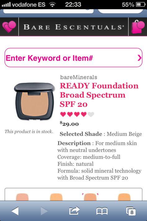 Me encantan los productos de Bare Minerals y esta nueva base promete mucho f2354e32722