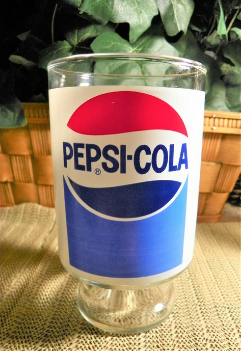 Great Pepsi Cola Advertising 1//2 oz Glass Dairy Creamer