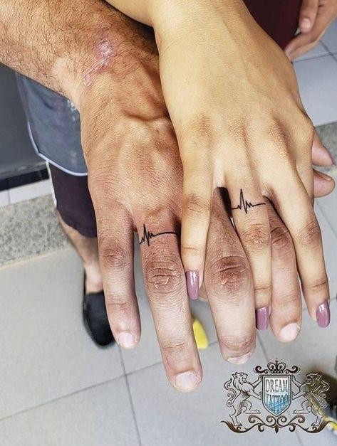 Tattoo Designs For Couples Weddings - Weddings Couples - tattoo designs for couples weddings weddings couples – weddings cou - Couples Ring Tattoos, Marriage Tattoos, Best Couple Tattoos, Couple Ring Finger Tattoos, Ring Tattoo Designs, Couples Tattoo Designs, Tattoo Rings, Tattoo Ideas, Mutterschaft Tattoos