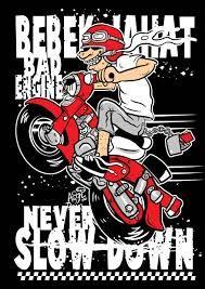 Gambar Kartun Motor C 70 Motorcycle Logo Motorcycle Illustration Cartoon Design