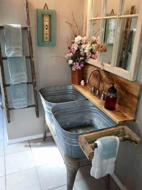Metal Bucket Vanity Interior Hjem Vsco