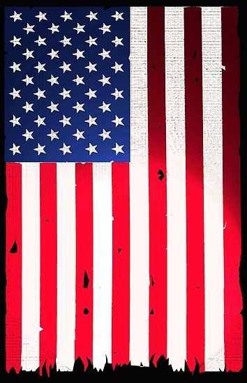 Old Glory 76 Flag Poster Wall Prints Old Glory Flag Design