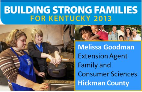 Family & Consumer Sciences | Cooperative Extension - Hickman County