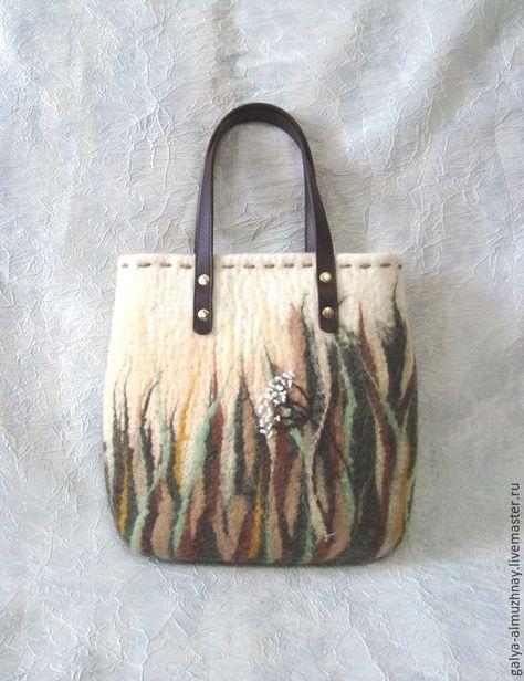 9c1a34e9db7e Женские сумки ручной работы. Заказать валяная сумка