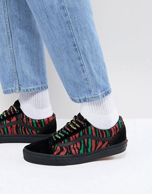 Vans Old Skool X A Tribe Called Quest Trainers In Black