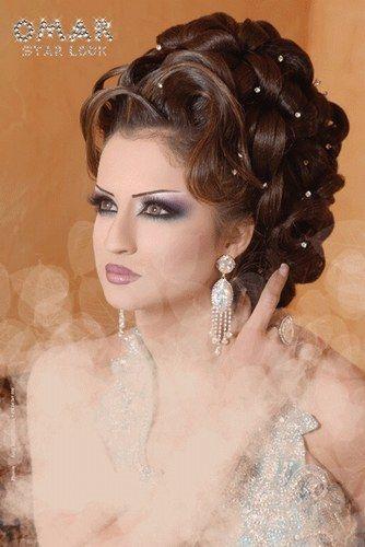 Chignon Libanais 2016 Maquillage Libanais Coiffure Mariage Coiffure