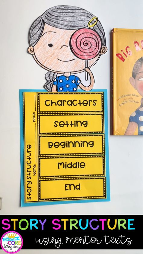 Teaching Story Structure with Mentor Texts