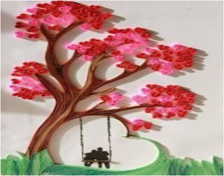 اعمال يدوية بالورق سهلة جدا طريقة عمل لوحة فنية بالورق الملون Artworks Paper Quilling Designs Quilling Paper Craft Flower Crafts