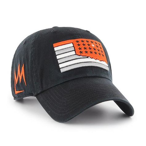 b1774c398e555 Made and Designed by 47 Brand. - Size is a One Size Fits All - Embroidered  on the Front is a Oklahoma State Cowboys Team Logo designed by Artist D.  Mason.