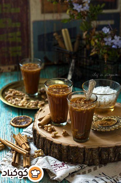 مشروب القرفة الاينر بالصور من سوسن أبوفرحة Recipe Winter Drinks Middle Eastern Recipes Cinnamon Drink