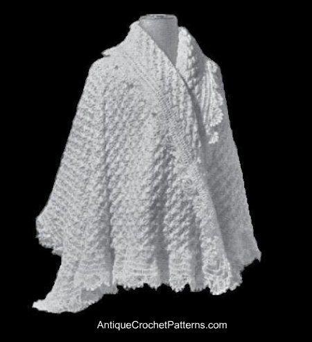 36 mejores imágenes de crochet - bed jackets en Pinterest | Ponchos ...