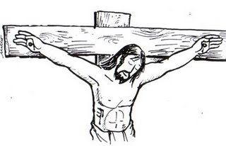 Crucifixion De Jesus Para Colorear Crucifixion De Jesus Cruz De Cristo Jesus Para Colorear