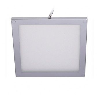 Led Plafonniere Opbouw 12 24 Volt Vierkant Led Verlichting Zilver