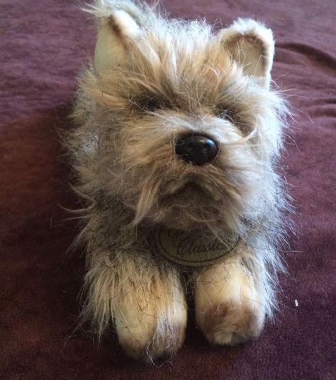 Russ Yomiko Classics Cairn Terrier Puppy Dog Plush 35759 9
