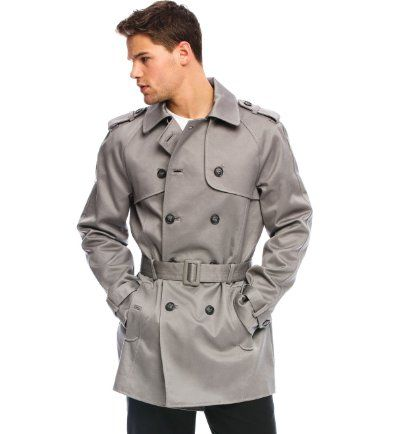 5ae97767 Armani Exchange Classic Trench Coat | How to: Gentleman | Pinterest ...