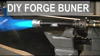 153 How To Build A Forge Making A Gas Forge Burner Minimal Tools No Welder Youtube Gas Forge Propane Forge Forge Burner
