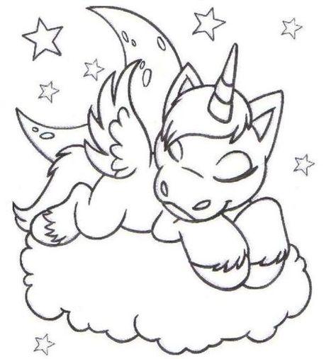 Desenhos Fofos Tumblr Pesquisa Google Unicornio Para Colorir