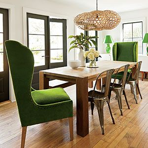 Family-Friendly Home Update | Dining Room Design | SouthernLiving.com
