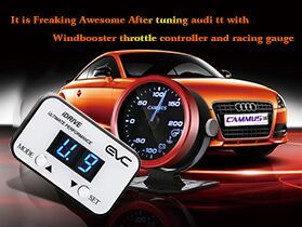 Freaking Awesome After Tuning Audi Tt With Electronic Throttle Controller Audi Car Tuning Throttle