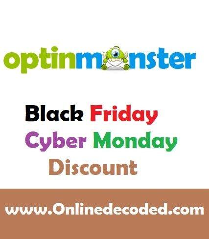 Optinmonster Black Friday Discount 2020 Save 35 Black Friday Cyber Monday Offers Discount Black Friday