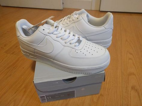 san francisco c1e87 fa064 Nike Air Force 1 One All White 315122-111 Original Shoes Men Size 11   fashion  clothing  shoes  accessories  mensshoes  athleticshoes (ebay link)