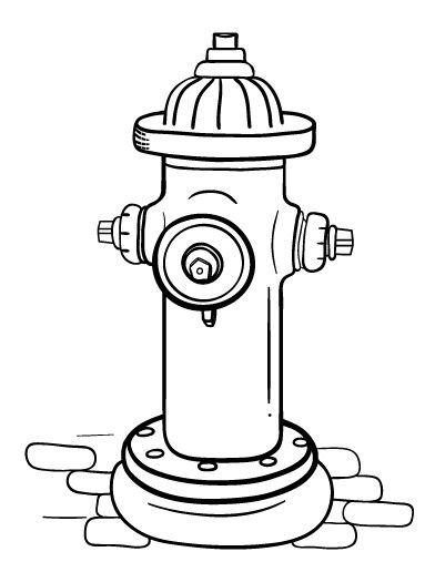 49++ Yellow fire hydrant clipart info