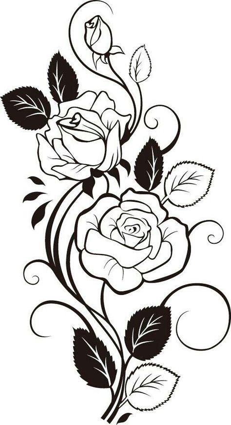 Pin Di Giorgiana Cristea Su Desene De Stampat Disegno Fiori
